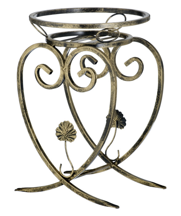 Heart-themed 1-pot plant stand Model 160