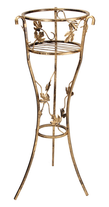1-pot plant stand with leaves Model 249A