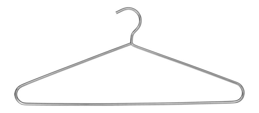 Garment hanger – chrome Model 373