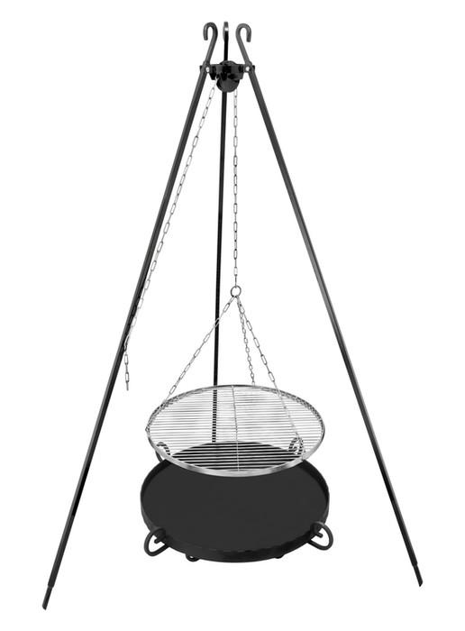 Tripod fire pit grill 60 – set Model 396