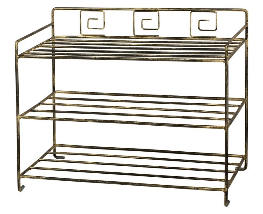 Greek-style shoe rack Model 431