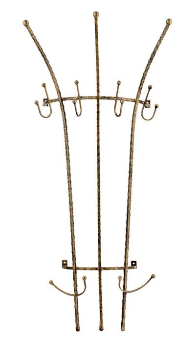 Wall mounted coat rack Model 44