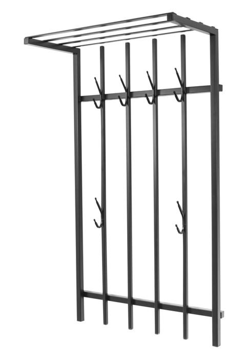 Wall-mounted coat rack with a shelf Loft 70 Model 477