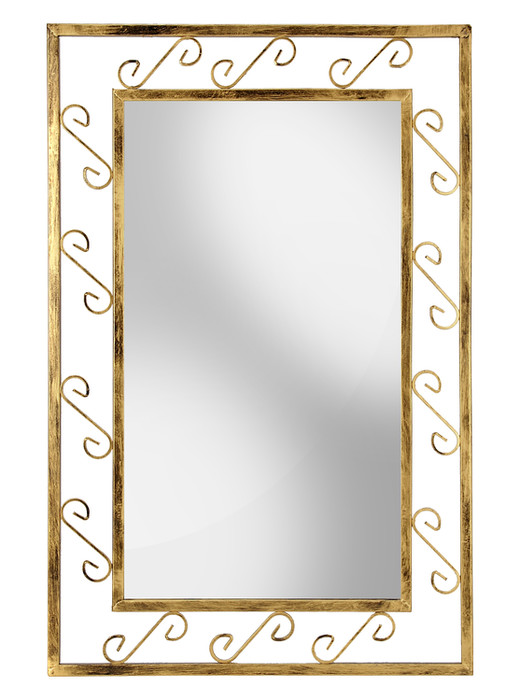 Metal frame mirror Model 53
