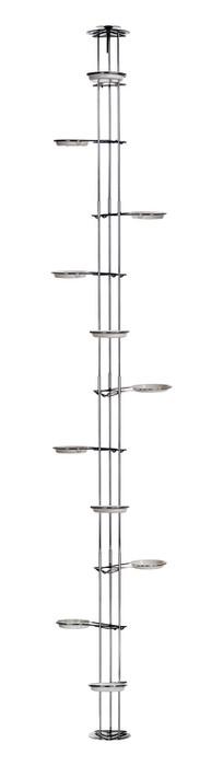 Strut plant stand Chrome (273cm) Model 6D