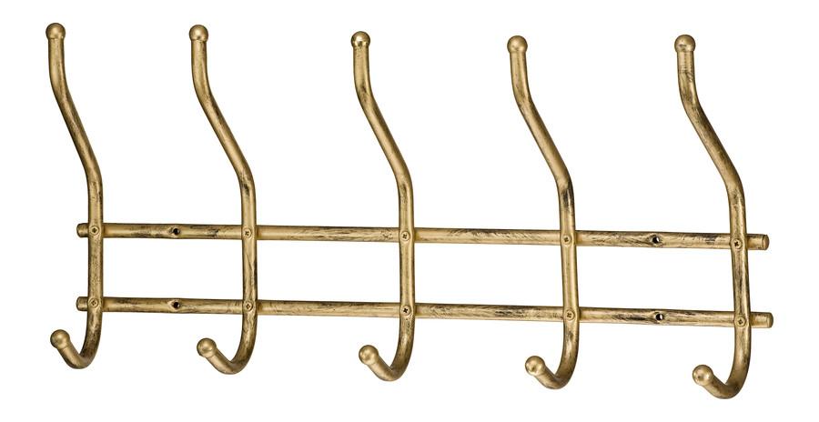 5-peg decorative coat rack Model 79A